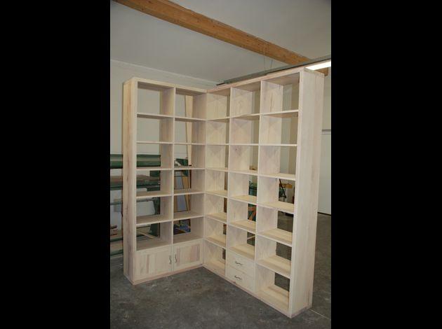 Atelier pourquoi pas mobilier design vous cherchez du mobilier aux lignes - Bibliotheque d angle blanche ...
