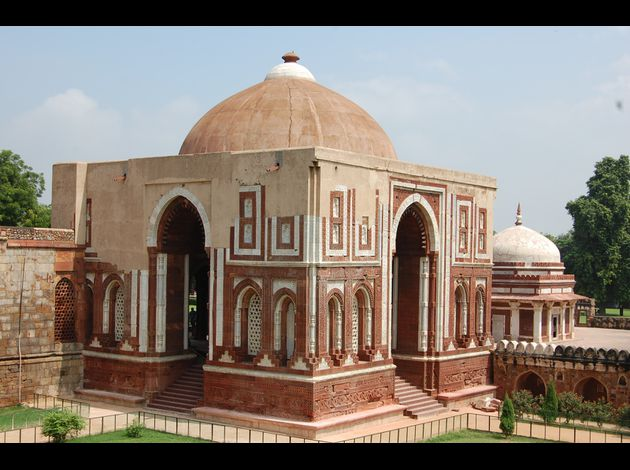 Inde architecture islam for Architecture inde