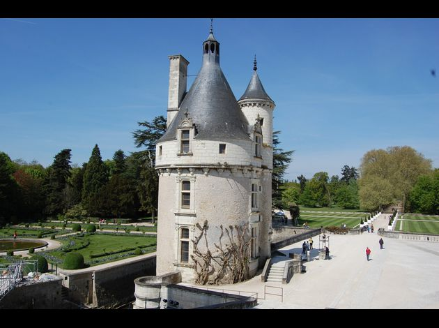 France renaissance for Chateau chenonceau interieur