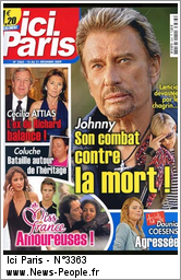 les magazines de presse avec johnny hallyday. Black Bedroom Furniture Sets. Home Design Ideas