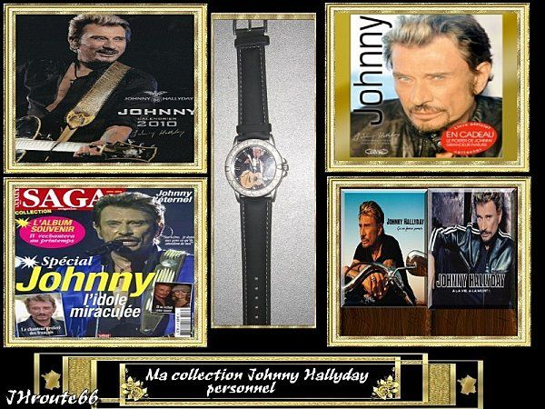 ma collection johnny hallyday personnel jhroute66. Black Bedroom Furniture Sets. Home Design Ideas
