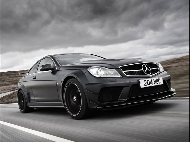 2012 Mercedes coupé C63 AMG Black Series 6