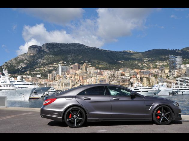 Stealthy Style Mercedes-Benz CLS63 AMG by GSC 4