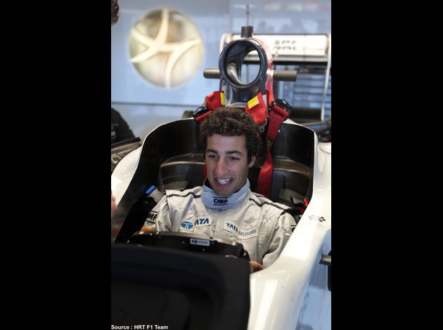 HRT - Daniel Ricciardo