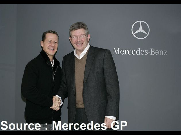 Mercedes GP - Michael Schumacher, Ross Brawn