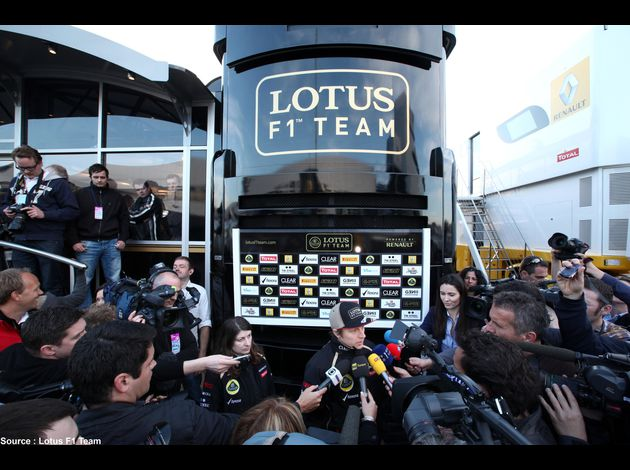 Lotus - Kimi Raikkonen, Lotus F1 Team