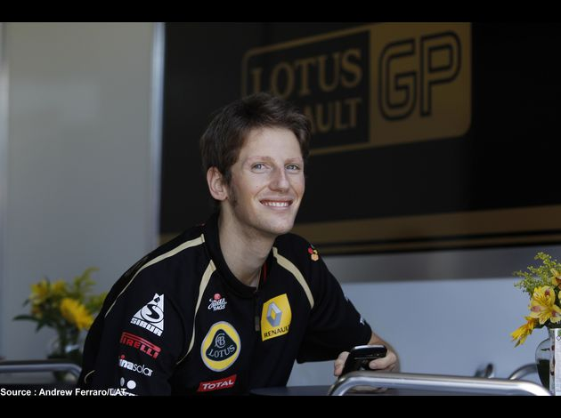 Lotus Renault GP - Romain Grosjean