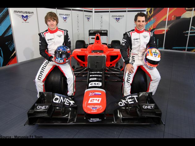 Marussia - Charles Pic, MR01, Timo Glock
