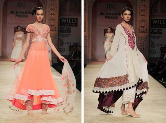 Tarun Tahiliani WLIFW 2012