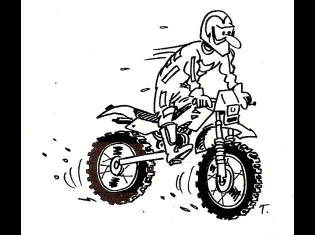Redirecting to - Dessin humoristique motard ...