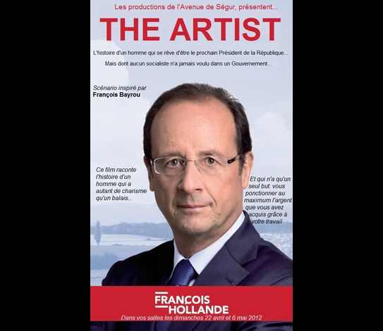 Franois Hollande The Artist