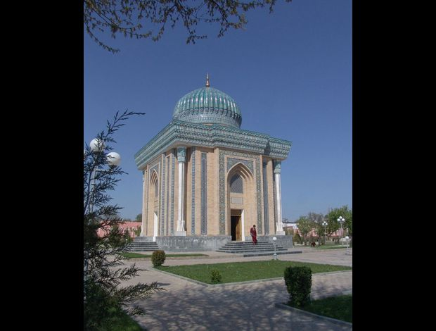 Mausole de l'Imam Al Bukhari (Samarkand) 01