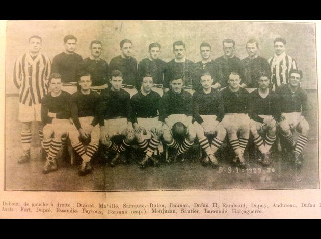 Photos équipes BTS du passé Boucau-Stade-5-2-1930