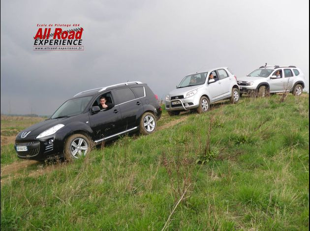 1 stage suv duster 4X4 avril2012 allroadexperience