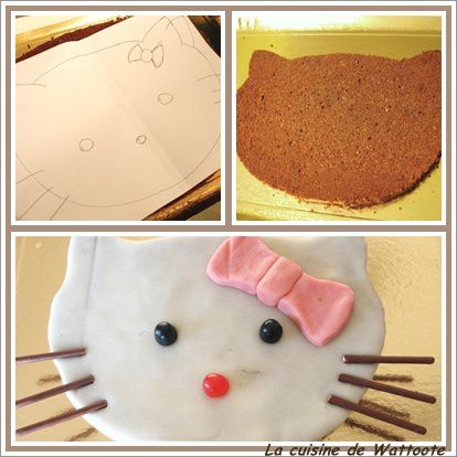 gâteau Hello Kitty 2