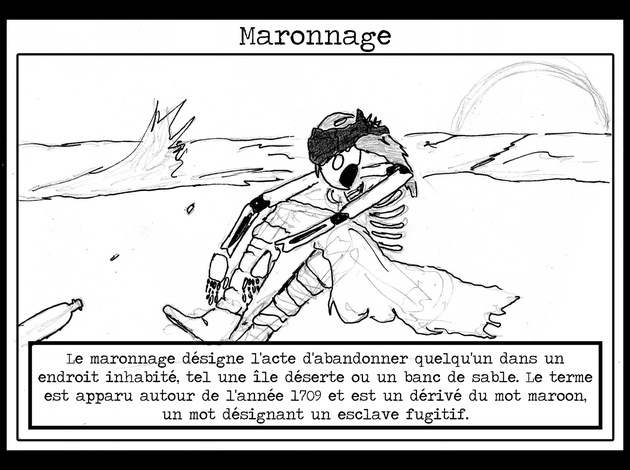 Maronnage InkBlood