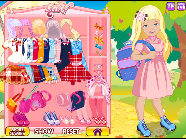 barbie dress up games car interior design