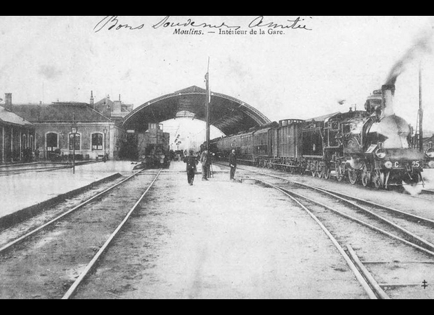 Gare de Moulins