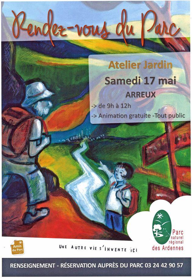 Atelier Jardin Pnr08 - 17mai Arreux
