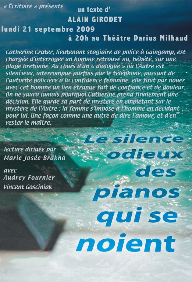 le silence odieux ...piano