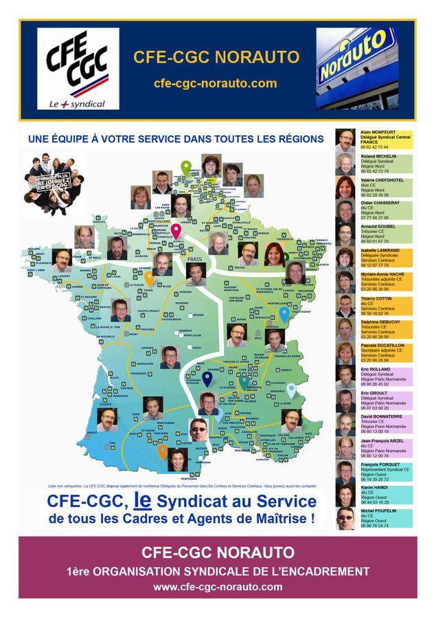 Carte CFE-CGC-NORAUTO 2013-