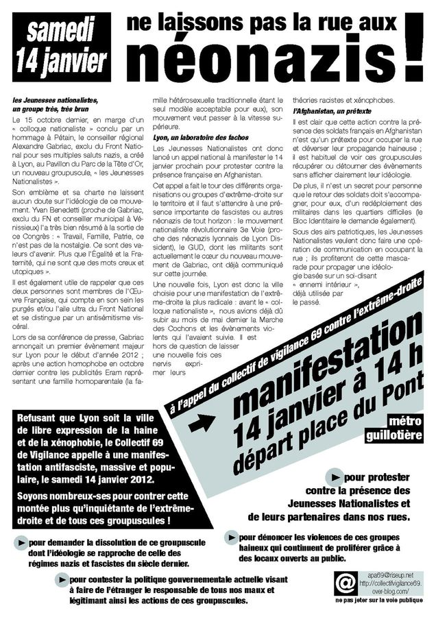 tract 14 janvier