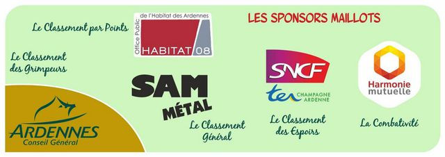 SPONSORS MAILLOTS