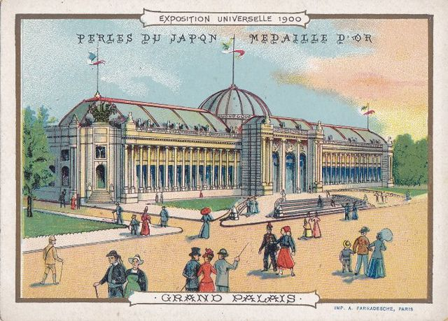 Exposition universelle paris 1900 1 le blog de estelle s c - Grand palais expo horaires ...