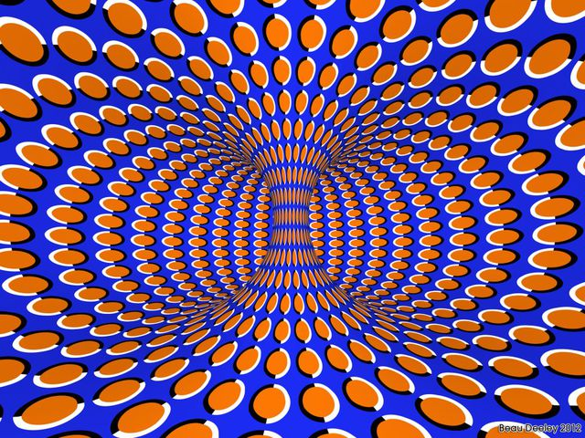 vortex rotatif Beau Deeley illusion
