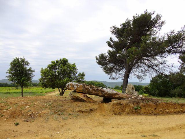 Un dolmen près de Saint Pons