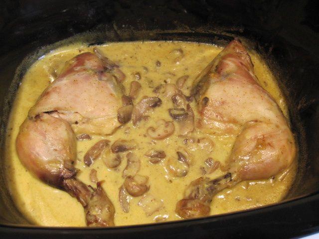 cuisses de poulet au curry la cuisine au village. Black Bedroom Furniture Sets. Home Design Ideas