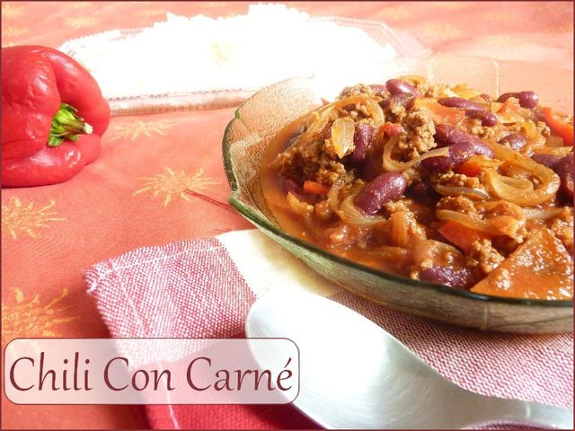 Chili con carn weight watchers mon royaume weight watchers - Blog cuisine weight watchers ...
