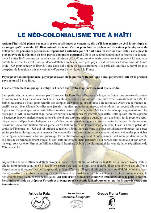 Neo colonialisme en Haiti