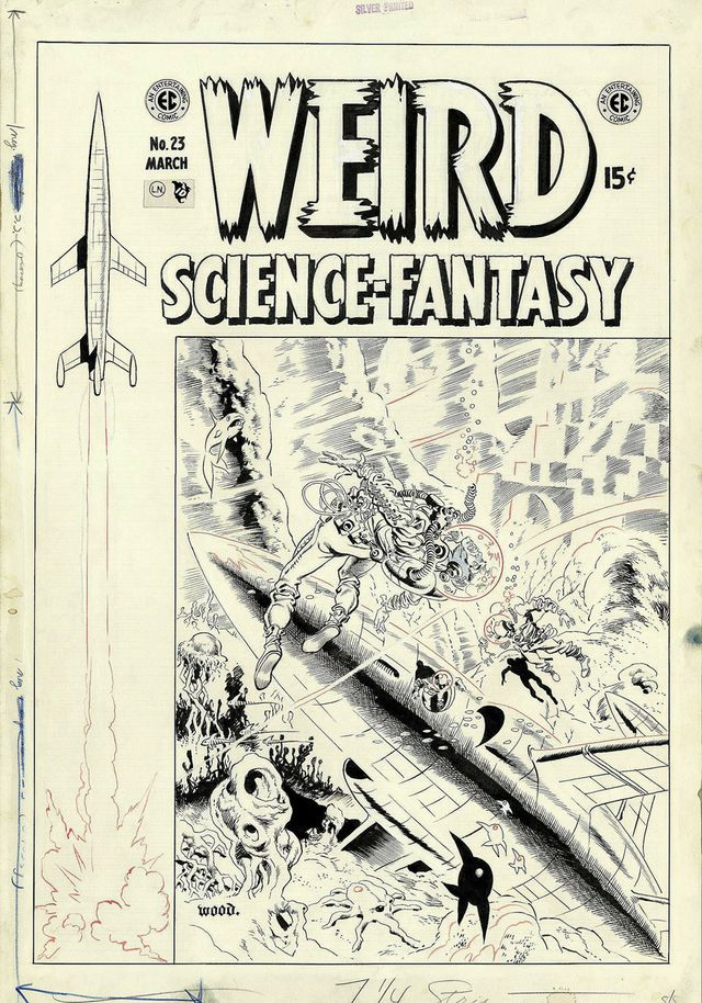 Weird Science-Fantasy 23