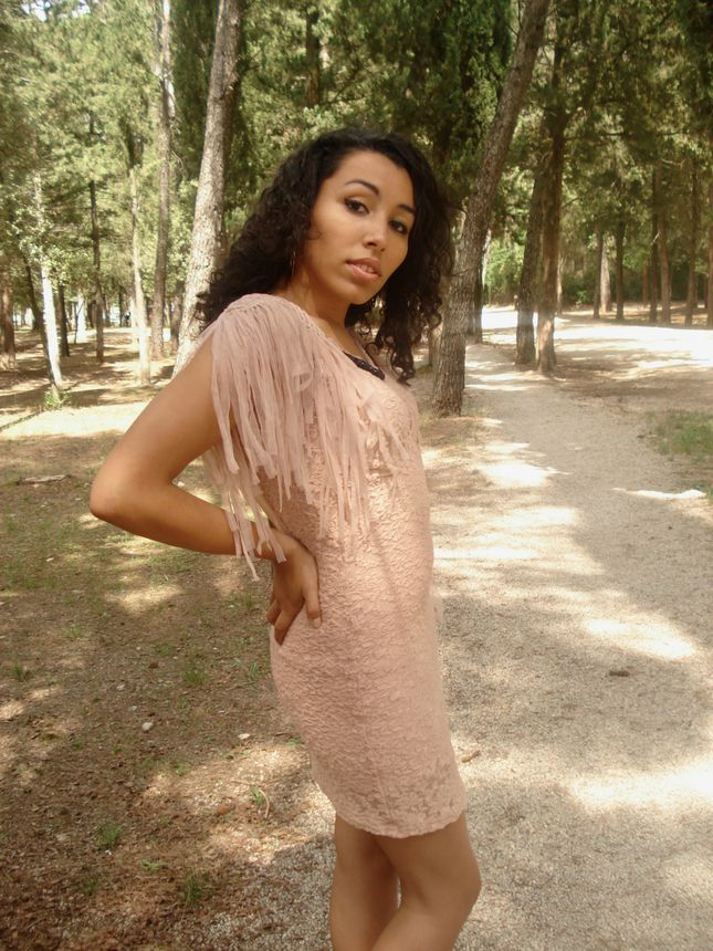 Un air féerique, shooting streetstyle pink dress -copie-1