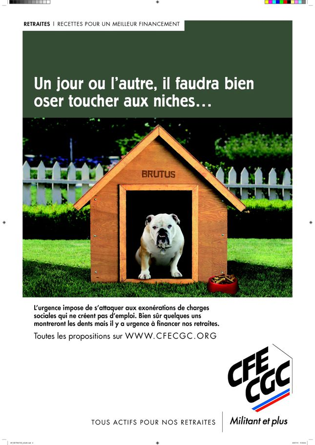 affiche retraite recette financement