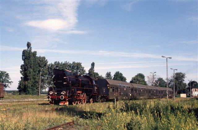 Locomotive vapeur Pologne
