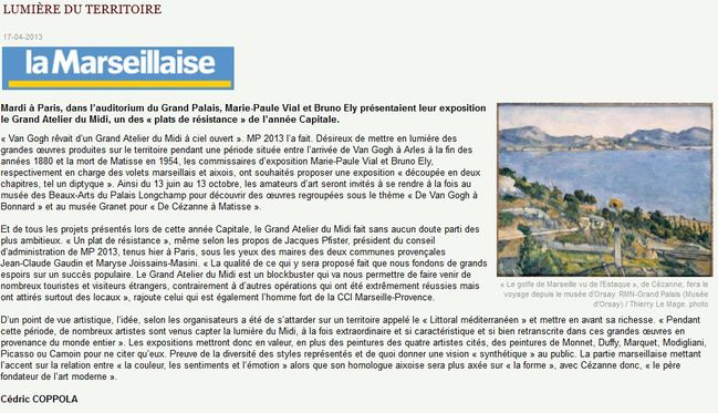La Marseillaise17 04 2013