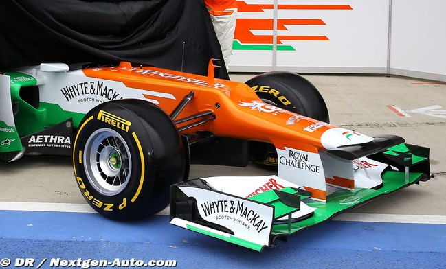 force india 2012-2