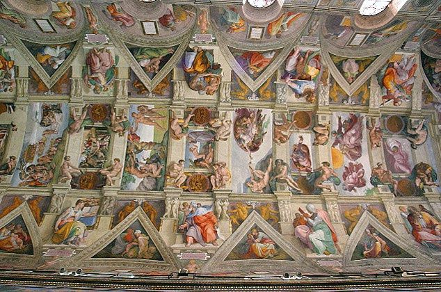Sistine Chapel ceiling photo 2