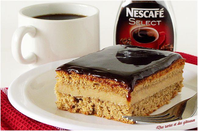 Mon gâteau au café