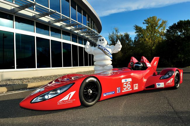DeltaWing Michelin 13