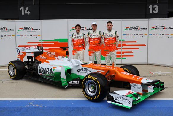 force india 2012