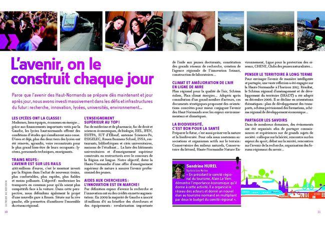 Région lapreuve 12 pages - pages 10 et 11
