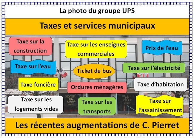 Taxes locales