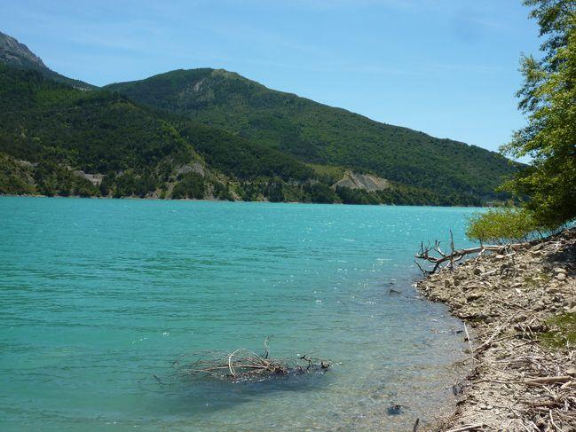 Lac Castillon (mai 2011)