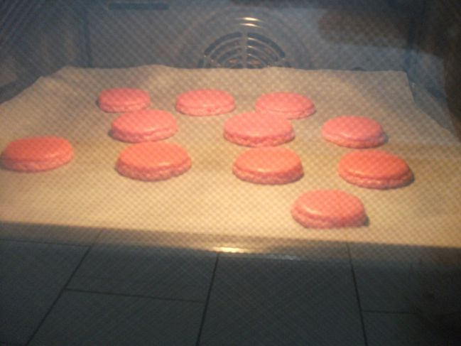 Macarons aux fruits rouges mes gourmandises - Duree cuisson oeuf coque ...