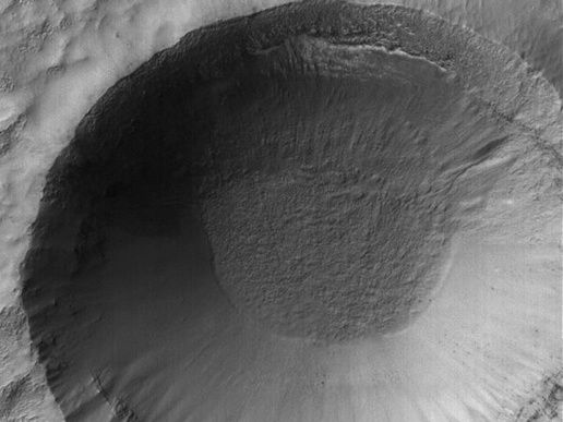 Mars-cratere-Frosty-MGS NASA-JPL-Space Science Systems