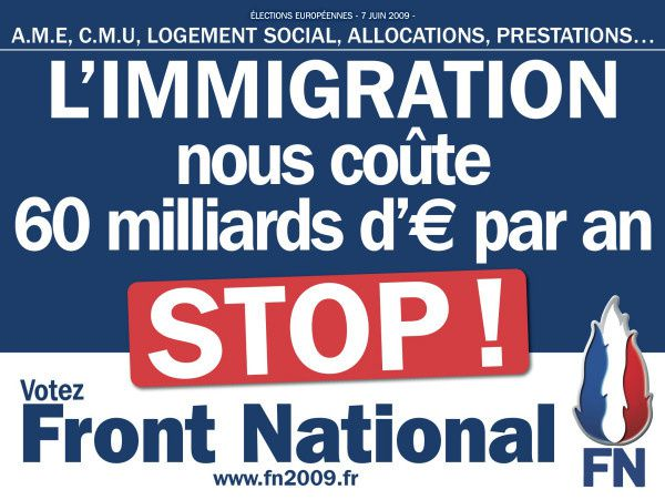 affiche europeennes stop immigration1
