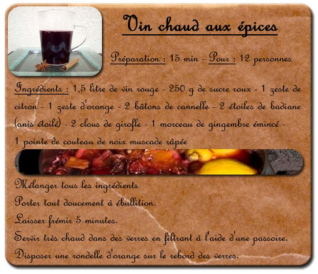 recette du vin chaud de noel my blog. Black Bedroom Furniture Sets. Home Design Ideas